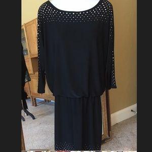 WHBM Jersey 3/4 sleeve dress